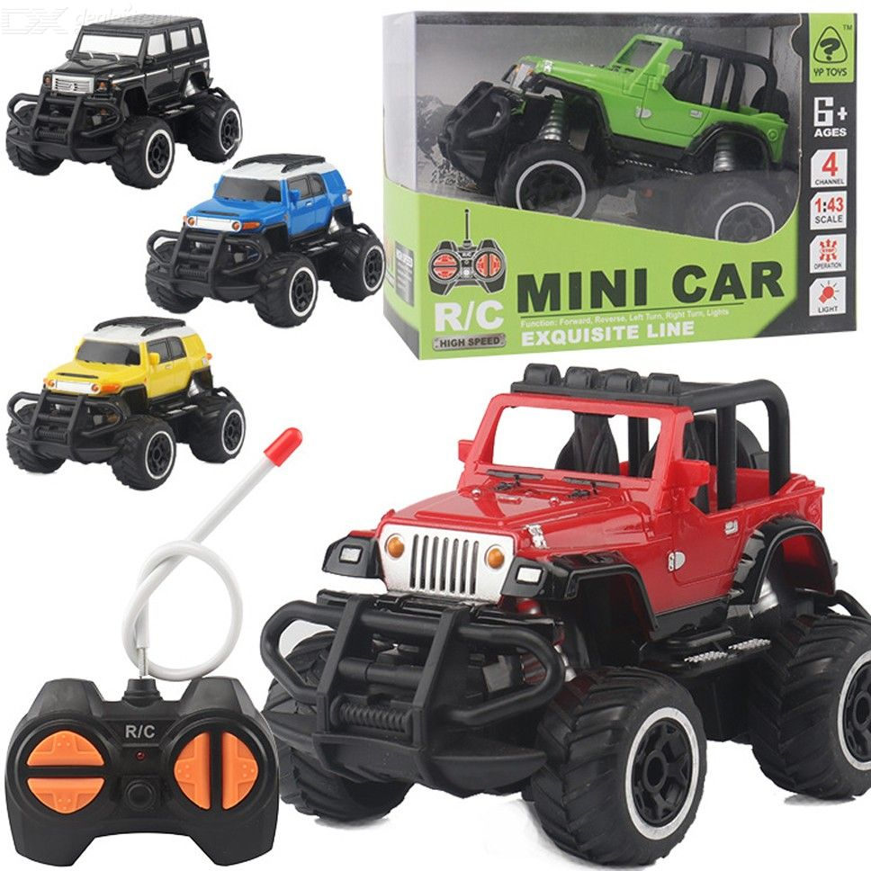 RC Car Electric Remote Control Off Road Truck For Kids