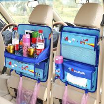 Cute-Cartoon-Car-Chairs-Storage-Bag-With-Foldable-Dining-Table-Practical-Car-Seats-Organizer