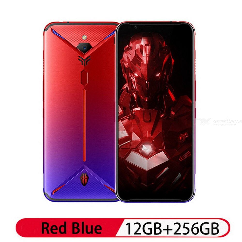 Nubia Red Magic 3S 6.65 Inch Gaming Smartphone Snapdragon 855 Plus 48MP + 16MP Cameras 12GB RAM 256GB ROM - US Plug