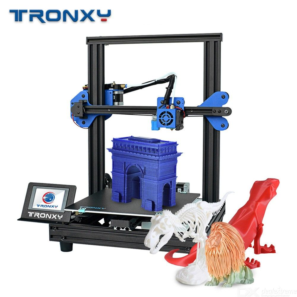 TRONXY XY-2 Pro New 3D Printer Printing Machine With 255 X 255 X 260mm Print Size - EU Plug