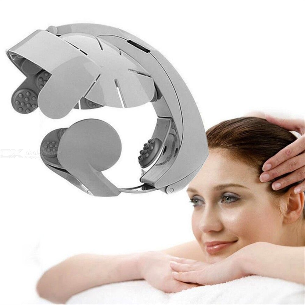 Electric Scalp Massager Home Head Massging Machine With 8 Intensity Levels