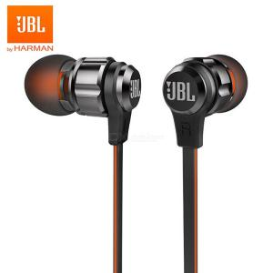 JBL T180A Stereo In-Ear Earphone Running Sports 3.5mm Wired Earbuds With Mic, Pure Deep Bass Game Music Headset