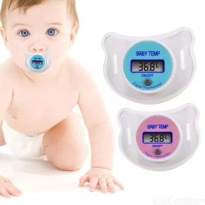 LCD Digital Baby Nipple Thermometer Baby Health Monitor For Home