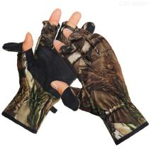 Outdoor Hunting Fishing Gloves Winter Windproof Warm Leather Glove For Men Women