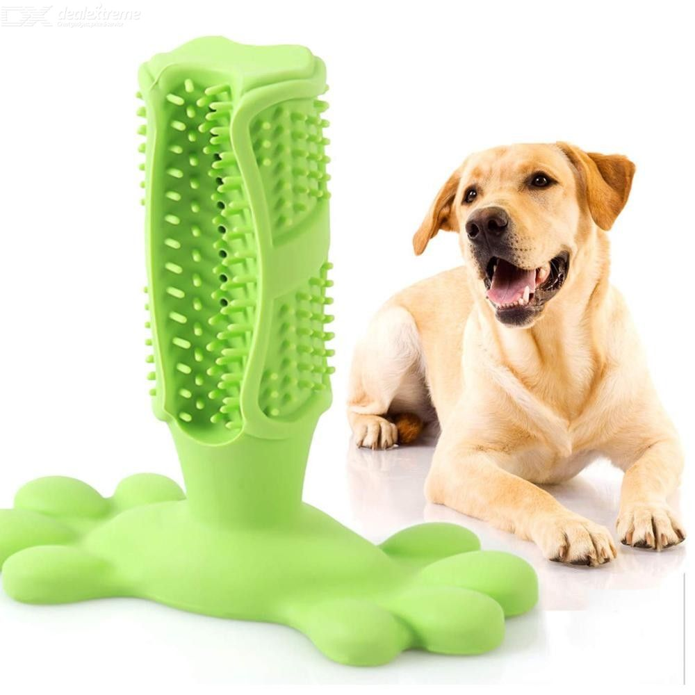 Dog Toothbrush Teeth Cleaning Stick Pets Chew Toy