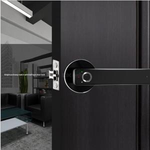 WAFU WF-015 Safety Zinc Alloy Smart Electric Fingerprint Handle Door Lock for Home