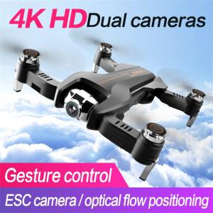 S5 RC Drone With 4K 1080P Dual Camera Quadcopter Headless Mode 3D Flip Follow Me Optical Flow Positioning LED