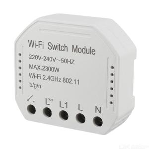 WiFi Smart Light Switch DIY Breaker Automation Module, Support Tuya APP Remote Control, Works with Alexa Google Home 1/2 Way