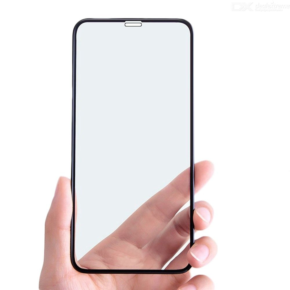 CHUMDIY 2.5D Full Tempered Glass Screen Protector Anti-scratch Front Film for iPhone 11 Pro Max