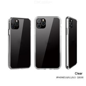 WK Premium Thin Soft TPU Case For IPhone 11 / 11 Pro / 11 Pro Max Case Clear / Black