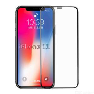 CHUMDIY 2.5D Full Tempered Glass Screen Protector Anti-fingerprint Front Film for iPhone 11