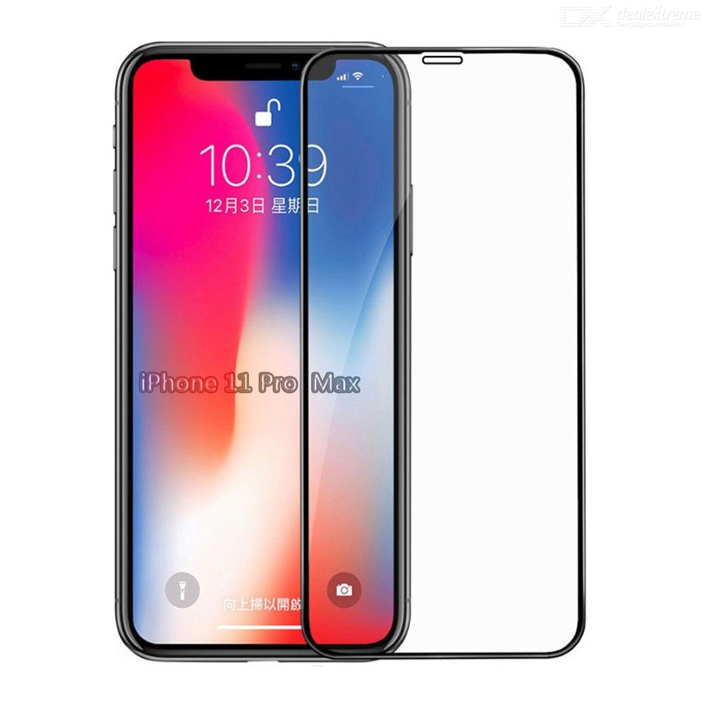 Dealextreme / CHUMDIY 2.5D Full Tempered Glass Screen Protector Anti-scratch Front Film for iPhone 11 Pro Max