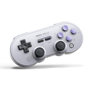SN30Pro 8-Bit Classic Wireless Bluetooth Game Handle with Vibration Feedback for Switch