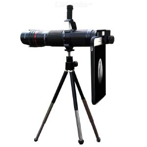 Mobile Phone Telephoto Lens 35X Zoom HD Cell Phone Camera Lens with Tripod Remote Control for iPhone Samsung Android