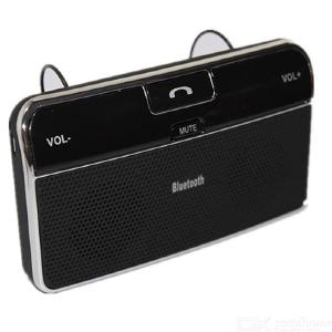 LD168 Bluetooth Car Speakerphone Kit, Hands-Free Visor Wireless Bluetooth Speaker For Safe Drive Talking