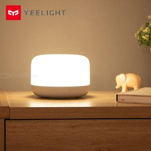 Yeelight YLCT01YL LED Bedside Lamp, Colorful Soft Bright Intelligent Control Brightness Adjustable Light - CN Plug