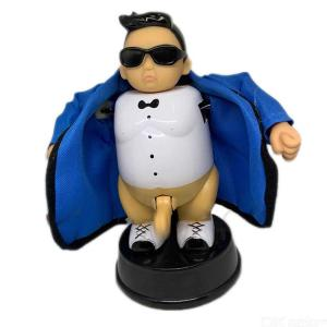 Tricky Toy Stripping Man Figurine Dirty Man Ornaments Creative Funny Birthday Christmas Gift