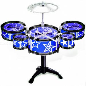 5-Piece Drum Set Musical Instrument Toy Playset for Children Kids Boy Girl