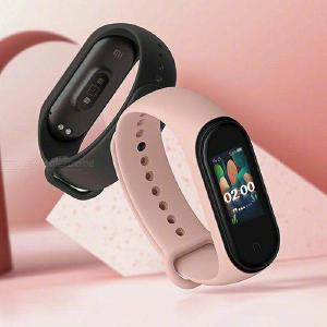 Original 2019 Newest Xiaomi Mi Band 4 Smart Band 4 Bracelet Heart Rate Fitness Tracker Color Screen Bluetooth 5.0 - Black