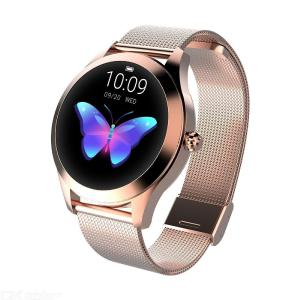 IP68 Waterproof Smart Watch Women Trendy Bracelet Heart Rate Monitor Sleep Monitoring Smartwatch Connect IOS Android PK S3 Band