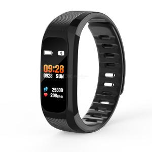 DMDG Smart Bracelet Waterproof Sports Wristband Heart Rate Blood Pressure Monitor for Android iOS