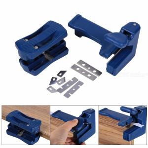 Wood Double Edge Banding Machine Trimming Cutting Device Manual Head And Tail Trimmer Woodworking Tool For Carpenter