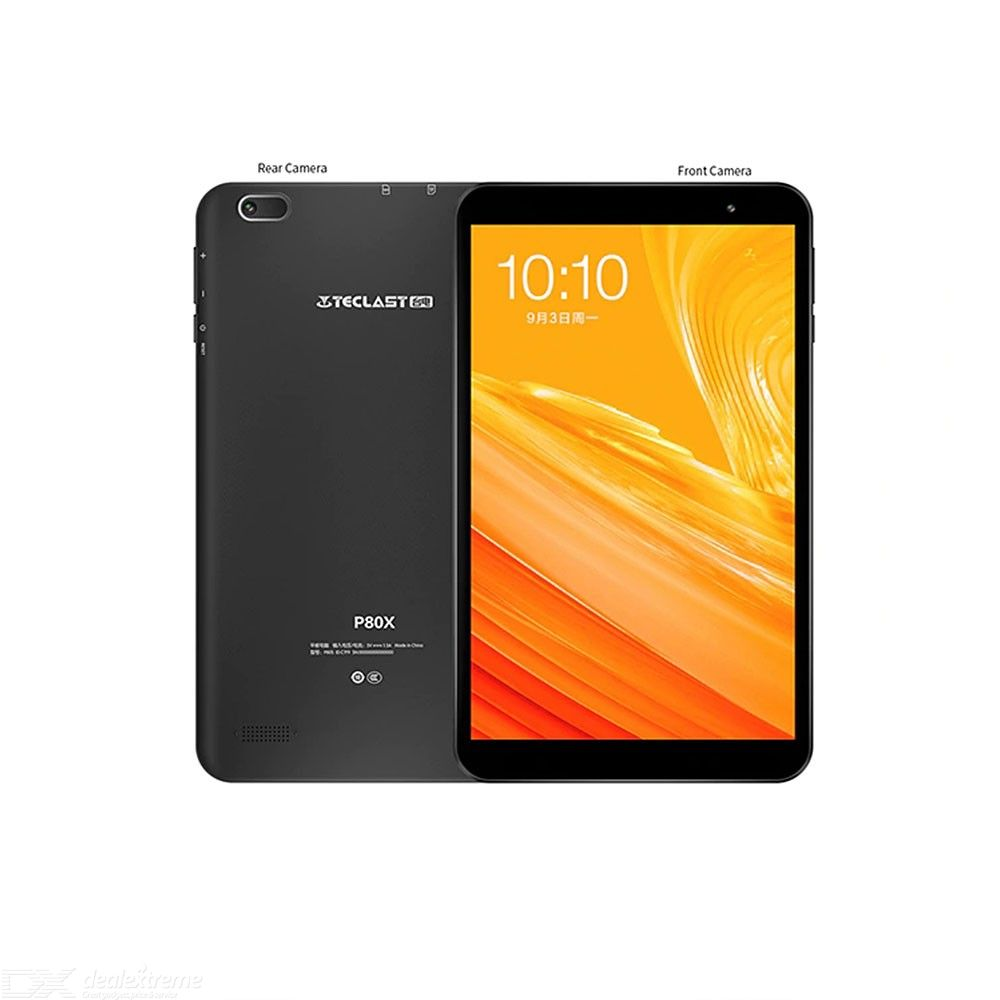 Teclast P80X 4G Phablet 2GB RAM 32GB ROM Octa-Core Android 8 Inch Tablet PC - Black