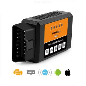 FOXWELL OBD2 WiFi ELM327 V 1.5 Scanner Auto OBDII Scan Tool For IOS Android