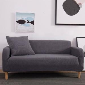High Stretch Sofa Cover Comfort Brushed Fleece Sofa Slipcover
