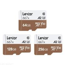 Lexar-64GB-128GB-256GB-MicroSD-TF-Memory-Card-With-100MBs-Read-Speed-For-Drone-Sport-Camcorder