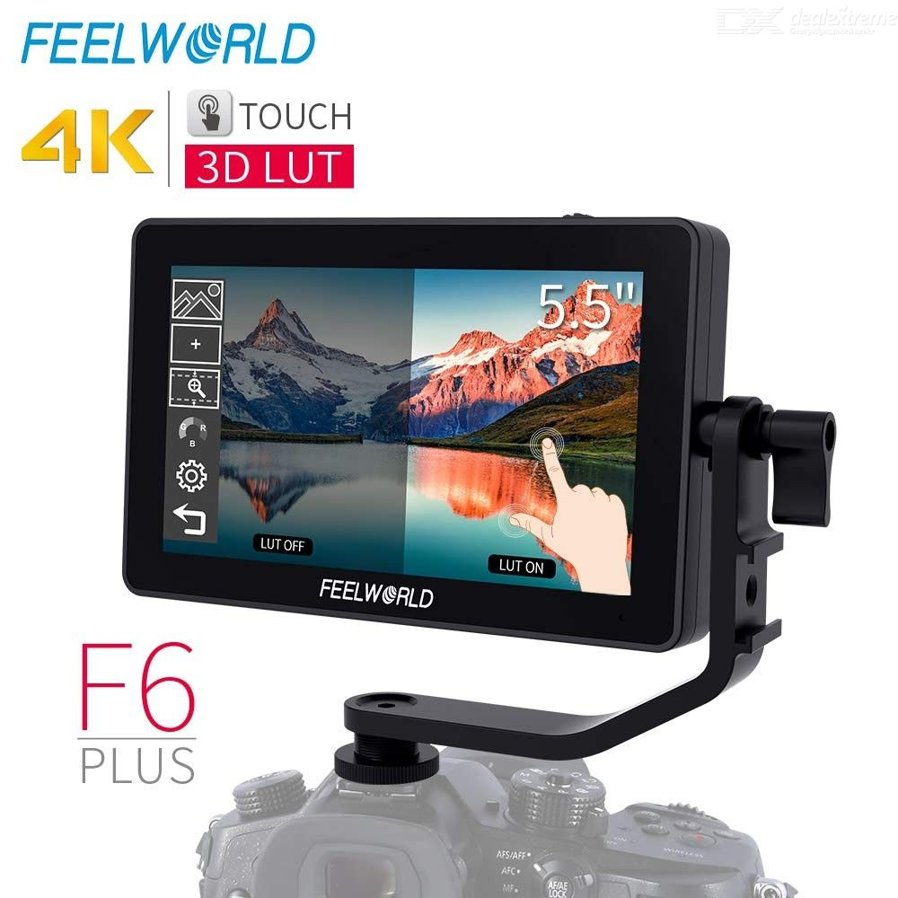 FEELWORLD F6 Plus 5.5 Inch IPS Full HD DSLR Camera Field Touch Screen Monitor