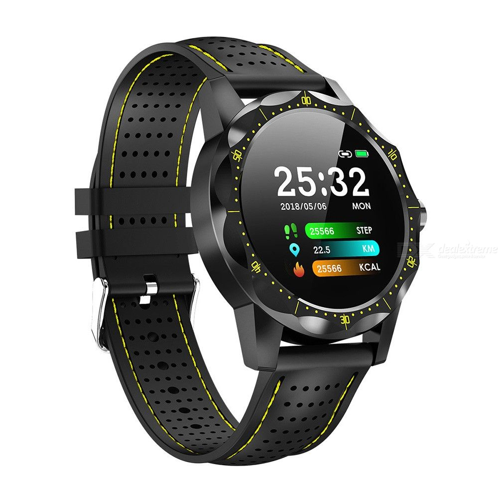 SKY1 Smart Watch Fitness Tracker IP68 Waterproof Smartwatch Heart Rate Blood Pressure Monitor For IOS Android