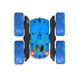 JJRC Remote Control Car 360 Rotating 4WD Off Road Double Sided Rotating Tumbling - 2.4Ghz High Speed Rock Crawler Vehicle