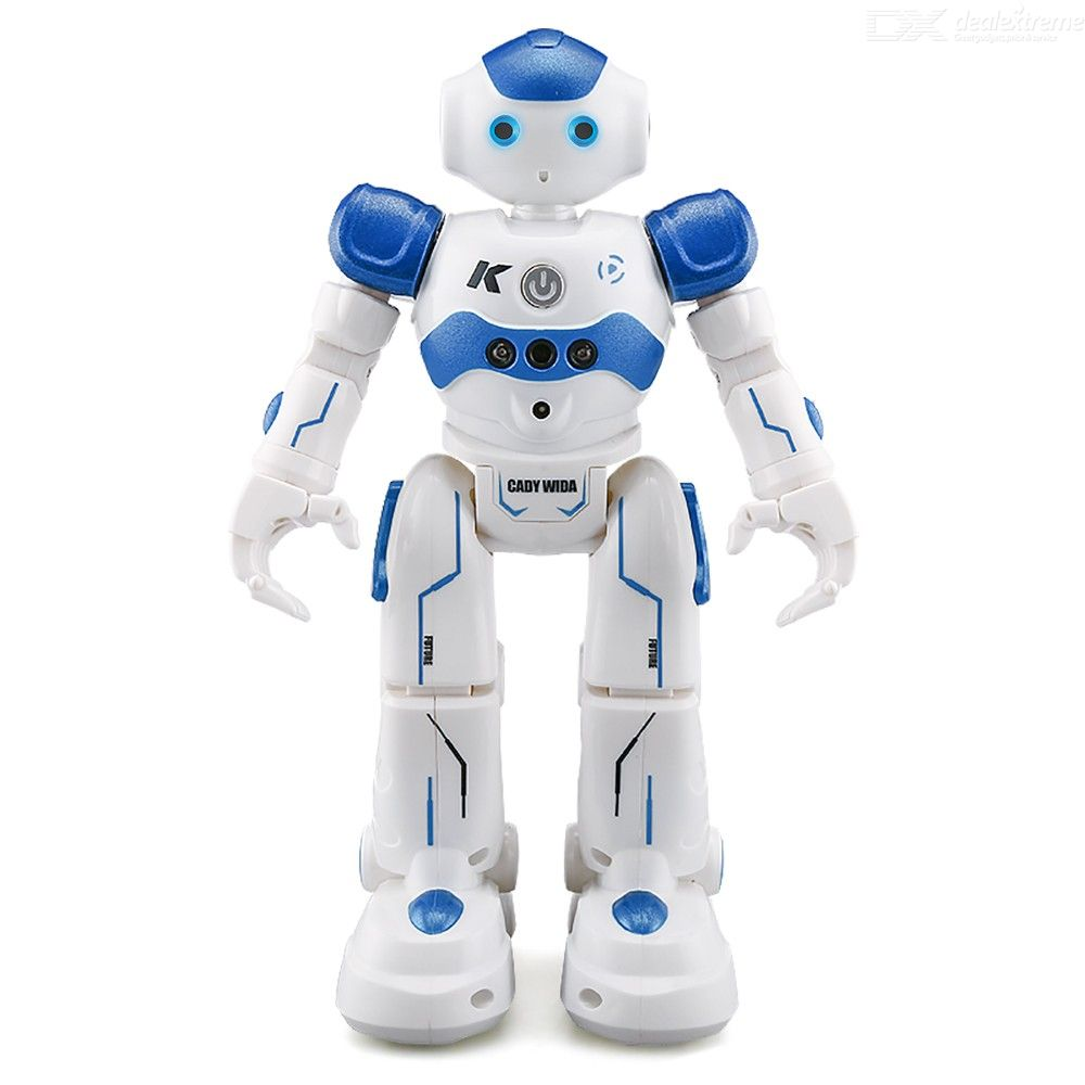 JJRC R2 CADY WIDA Smart Intelligent RC Robot Interactive Programmable Toys For Kids - Blue