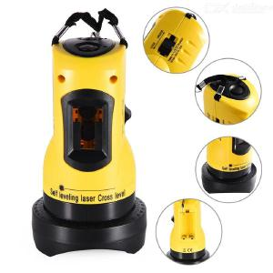 Laser Level 360° Rotary Height Adjustable Self-leveling Cross Lines Laser Level With 2 Lines Horizontal/Vertical