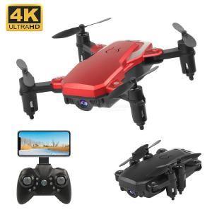 K1 Mini Folding 4-Axis RC Airplane, 4K HD WiFi Real-Time Aerial Photography Drone Quadcopter
