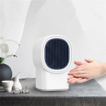 Portable Small Air Heater, Silent Hot Air Blower for Home Dormitory
