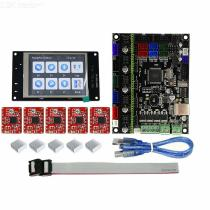 TFT32-Full-Color-LCD-Touch-Screen-2b-MKS-GEN-L-Mainboard-With-5Pcs-Red-A4988-Driver-3D-Printer-Controller-Board-Kit