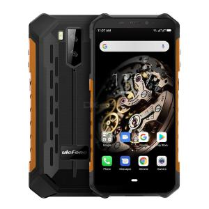 Ulefone Armor X5 MT6763 5.5 Inch Rugged Phone 3GB RAM 32GB ROM Android 9.0 IP68 Waterproof 5000mAh Battery Global Version