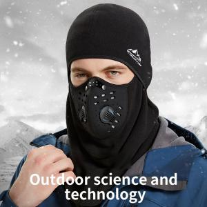 Windproof Cycling Face Mask Thickened Antifreezing Neck Ears Cover With Anti-fog Mask For Outdoor