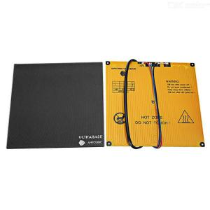 Ultrabase Platform With Heated Bed For 3D Printer - 240x220x5.5mm