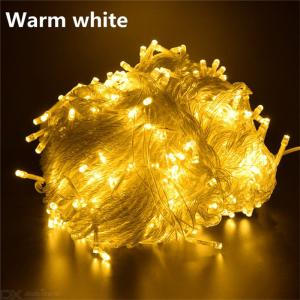 10M 100 LED String Lights Waterproof Decorative Lighting For Christmas Wedding Party Holiday Events – EU Plug