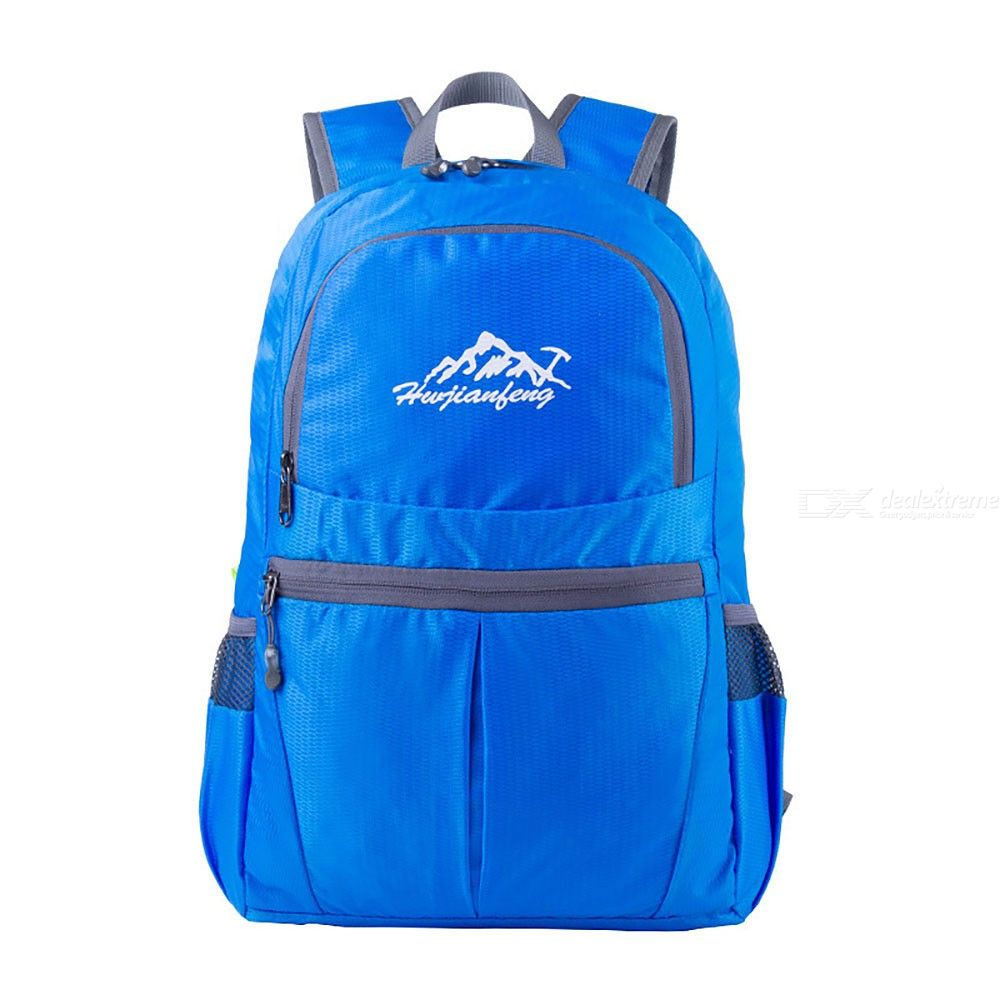 Portable Folding Bag Casual Large Capacity Backpack For Outdoor Sports