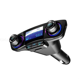 Bluetooth Car FM Transmitter Wireless Radio Adapter TF Card MP3 Player With Dual USB Charging Ports 1.3 Inch Display
