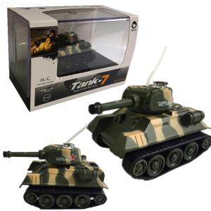RC Tank Mini Remote Control Battling Tanks With Rotating Turret