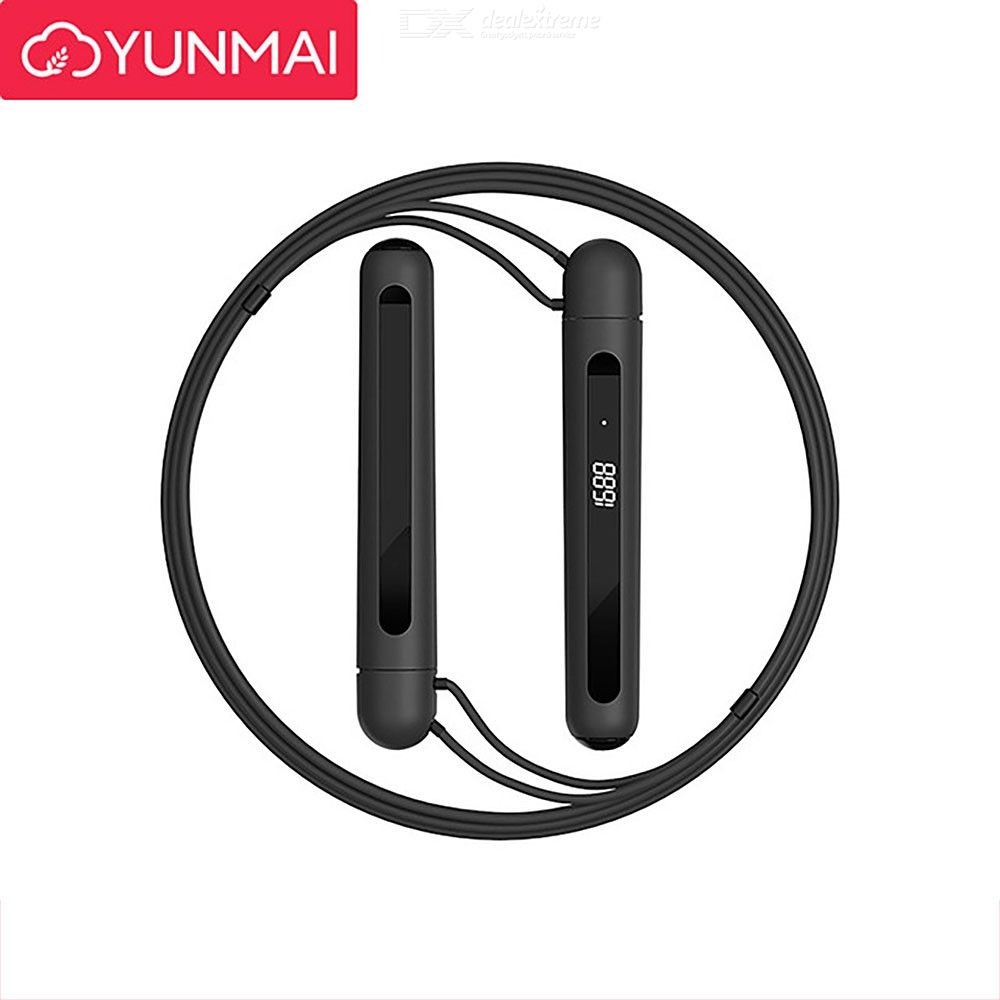 Smart Jump Rope 3M Adjustable Bluetooth Skipping Rope For Workout Exercise