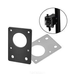 NEMA 17 42 Series Stepper Motor Mounting Plate Fixed Plate Bracket For 3D Printer CNC Parts Fit 2020 Profiles