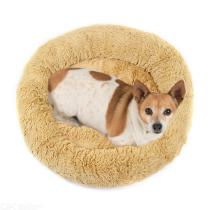 Donut-Pet-Bed-Ultra-Soft-Faux-Fur-Dog-Cat-Beds-For-Medium-Small-Dogs-Cats