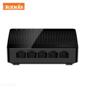 Tenda SG105 Mini Desktop Gigabit Switch Fast 5-Port Ethernet Network Switch LAN Hub - Black