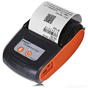 GOOJPRT PT-210 58MM Mini Bluetooth Thermal Printer - EU / US Plug